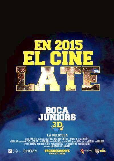 Boca Juniors 3D: The Movie (2015) Poster