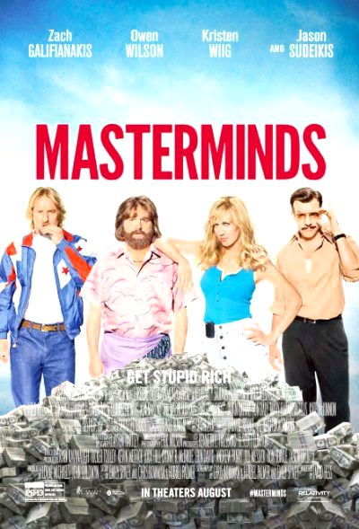 Masterminds (2015) Poster
